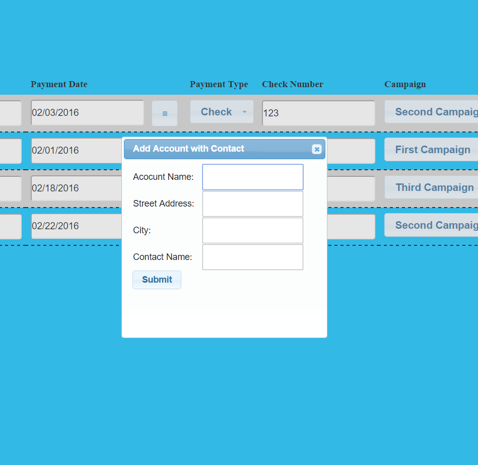 jQuery UI Widgets in Salesforce